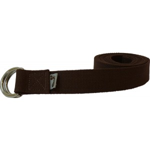 Brown Practice Strap with D-ring