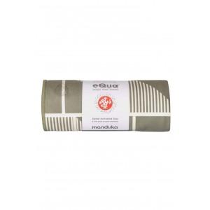 Manduka Equa® Mat Towel-Handloom Gray