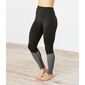 Manduka High Line Legging Black Grey