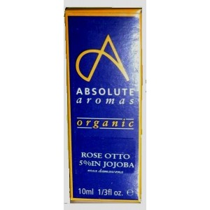 Absolute Aromas Rose Oil 5% dilution-10ml