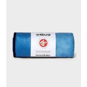 Manduka Equa® Hand Towel - Camo Tie Dye Blues
