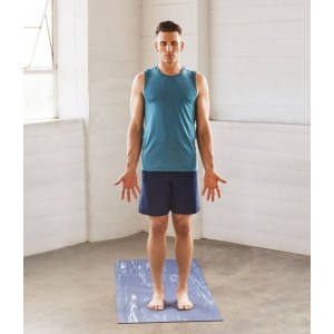 Manduka Men Cross Train Tank Heather Maldive