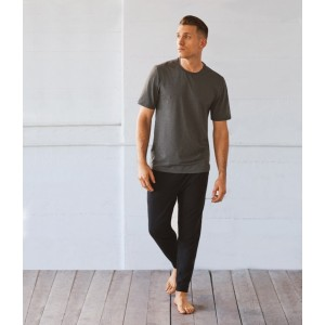 Manduka Men Cross Train Tee Heather Grey