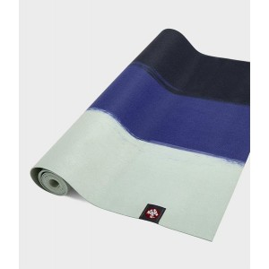 Manduka eKO SuperLite Travel Mat - Surf Stripe