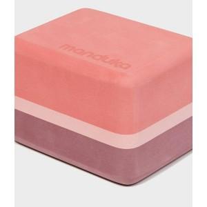 Manduka Uphold Recycled Foam Mini Block - Clay
