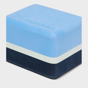 Manduka Uphold Recycled Foam Mini Block - Surf